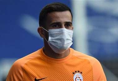 Omar Elabdellaoui, jugador del Galatasaray turco. Foto: Internet
