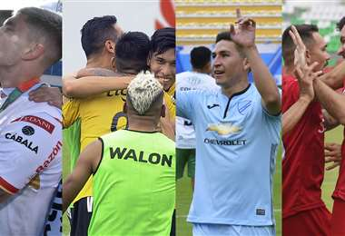 Always, The Strongest, Bolívar y Royal irán a la Libertadores. Foto: APG Noticias