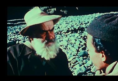 Escena del filme Mina Alaska