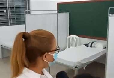 Alcaldía abre centro San isidro para atender a pacientes leves de Covid