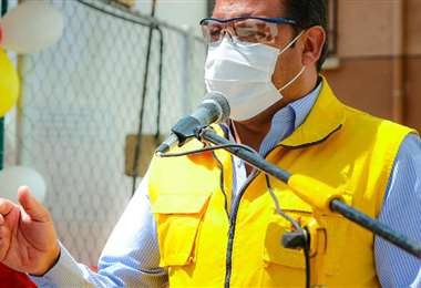 El alcalde paceño Luis Revilla.