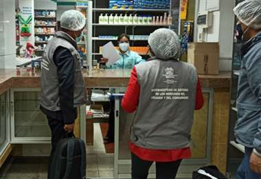 El control de farmacias se extiende al ámbito nacional. Foto: Internet