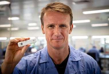 El médico australiano Sean Parsons. Foto: AFP
