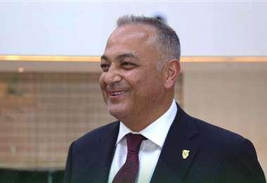 Fernando Costa, presidente de la FBF. Foto: FBF