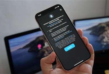 La aplicación dice que los mensajes de los usuarios están protegidos/Foto: Internet