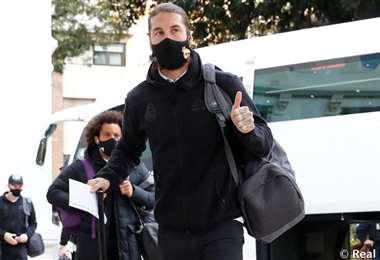 Los jugadores del Real Madrid llegaron a Málaga. Foto: Real Madrid