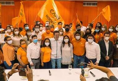 Comunidad Ciudadana resplada la candidatura de Camacho a la gobernación