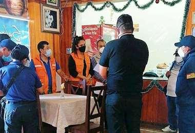 Control de locales en Tarija