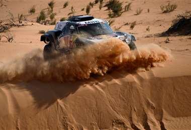 Peterhansel es candidato a ganar la presente edición del Dakar. Foto: AFP