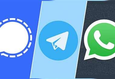 Los cambios en las políticas de WhatsApp dispararon las descargas de otras aplicaciones