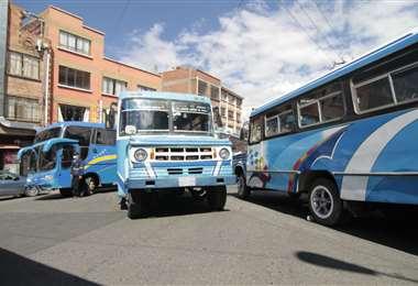 En Tarija el paro del transporte público es contundente (Foto: APG Noticias)