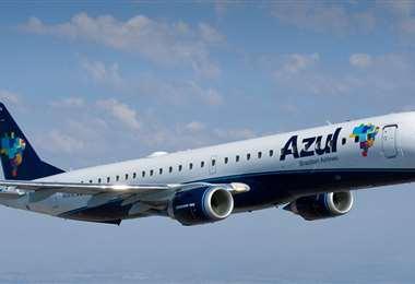 El vuelo de la aerolínea Azul que partirá a India