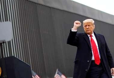 El estadounidense y un nuevo pronunciamiento
