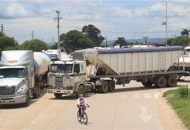 Los bloqueos dejan un saldo negativo en los sectores productivos /Juan Carlos Torrejón