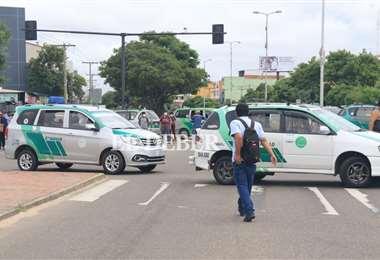 El acuerdo con el gobierno pondría fin al bloqueo del transporte. Foto: JC Torrejón