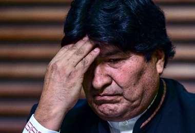 Evo Morales. AFP
