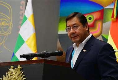 Luis Arce, presidente de Bolivia I APG Noticias.