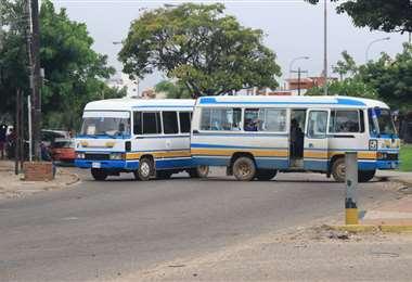 Transporte levanta el bloqueo tras acuerdo con gobierno. Foto: J.C. Torrejón