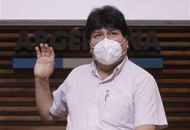 El expresidente se mantiene internado en la Clínica Los Olivos /AFP