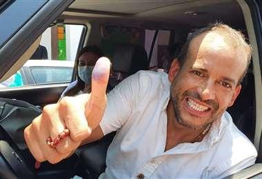 Foto referencial, Camacho es candidato a la Gobernación por Creemos