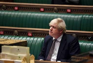 Boris Johnson pidió acatar el confinamiento. Foto AFP