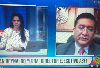 Juan Reynakdo Yujra, dijo que están precautelando el sistema financiero