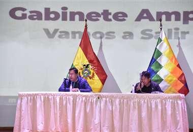 La reunión de Gabinete ampliado I APG Noticias.