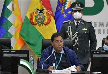 El Presidente fue duro con la policía (Foto: APG Noticias
