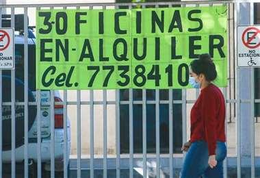 Por la pandemia, el Estado redujo el costo de los alquileres/Foto: EL DEBER