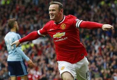 Rooney fue figura del Manchester United y goleador de la selección inglesa. Foto. AFP