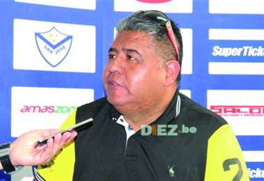 Wilson Martínez, ex presidente del club San José. Foto: internet