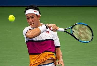 Kei Nishikori, uno de los tenistas que fue aislado en Melbourne. Foto: internet