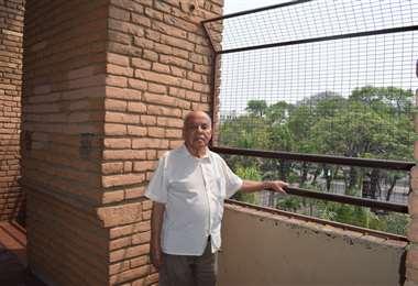 Falleció Rómulo Ribera, el encargado del reloj de la Catedral cruceña
