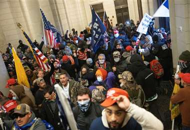 El 6 de enero una turba de republicanos ingresó al Capitolio/Foto: AFP
