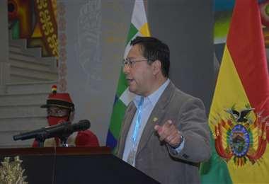El presidente Arce I APG Noticias.