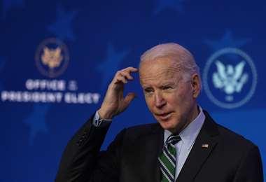 Biden también reveló planes para obtener $us 1,9 billones para reactivar la economía