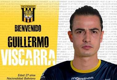 Guillermo Viscarra, el nuevo arquero del Tigre. Foto: club TS
