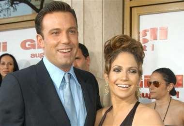 Ben Affleck y Jennifer López formaron una de las parejas más mediáticas