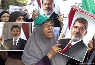 La organización fue declarada ilegal por el Gobierno egipcio