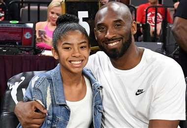 Kobe (41) y su hija Gianna (13) compartían su pasión por el deporte