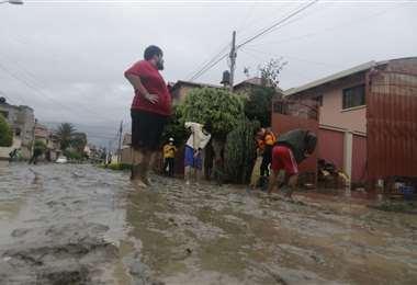 Las calles inundadas en Cochabamba I APG Noticias.