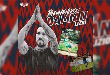 Damián Lizio, nuevo jugador de Wilstermann. Foto: Wilstermann