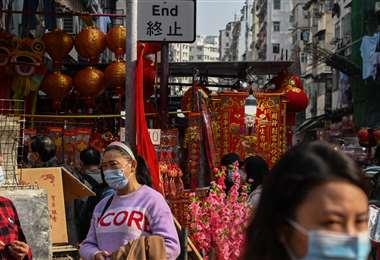 Rebrote de coronavirus en China. Foto AFP