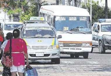 El transporte público será normal/Foto: EL DEBER