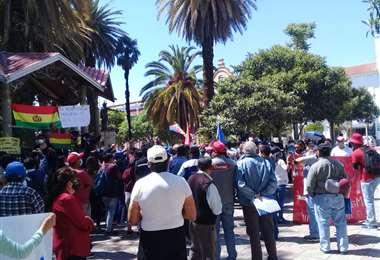 Campaña política en Tarija