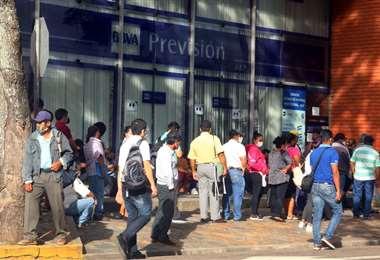 Hay sectores de la población que piden parte de sus aportes (Foto: Juan Carlos Torrejón)