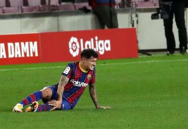 El centrocampista brasileño cayó lesionado ante el Eibar