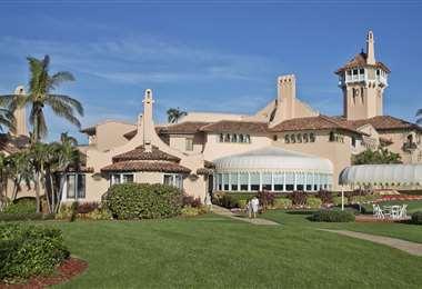 El lujoso club de golf en Florida