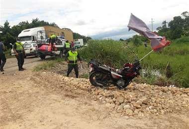 Accidente fatal en Lauca Ñ