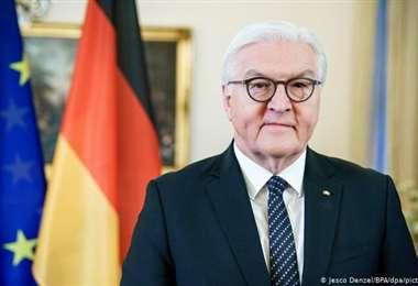 """El presidente alemán expresa su """"gran alivio"""""""